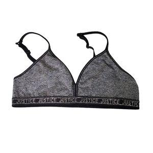 💥5/$25 JUSTICE bra size 34